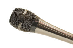 The big black microphone royalty free stock photography