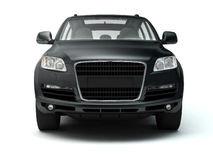 Big black outroader front view stock photography