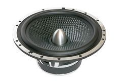 Big black speaker Royalty Free Stock Photography