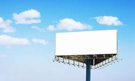 Big Blank Billboard Royalty Free Stock Photo
