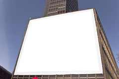 Big blank billboard Royalty Free Stock Images
