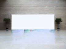 Big blank frame Royalty Free Stock Photos