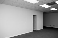 Big blank wall Royalty Free Stock Photography