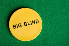 Big Blind Chip Royalty Free Stock Image