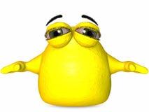 The Big Blob-Toon Figure Royalty Free Stock Image