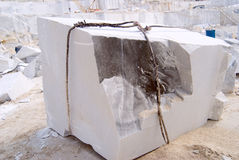 Big block. Of a marble Stock Photography