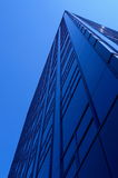 BIG blue. Building and a nice blue sky Royalty Free Stock Image