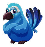 A big blue bird Royalty Free Stock Images