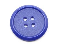 Big Blue Button Royalty Free Stock Photo
