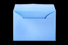 Big blue envelope. Stock Photo