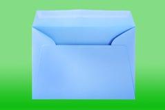 Big blue envelope. Royalty Free Stock Photo