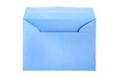 Big blue envelope. Royalty Free Stock Photo