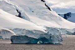 Blue icebarg Royalty Free Stock Photography