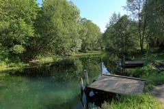Big Blue Lake in Kazan, Tatarstan, Russia Stock Photography