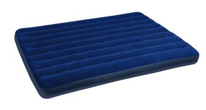 Big blue mattress Royalty Free Stock Images