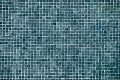 Big blue mosaic Stock Images