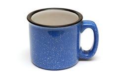 Big blue mug Stock Images