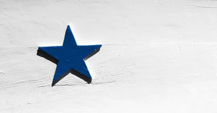 Big blue star Stock Images
