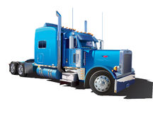 Big blue truck Royalty Free Stock Photography
