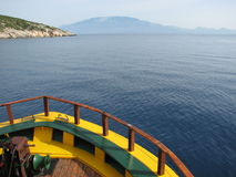 Big boad. Goes to kefalonia Stock Photo