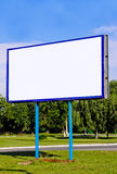 Big board. For advertising and announcements Royalty Free Stock Photography