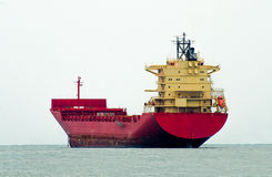 Big boat of oil tanker Royalty Free Stock Images
