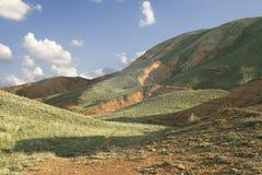 Big Bogdo mountain. Border of Russia and Kazakhstan royalty free stock photography