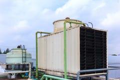 Big Boiler for factory Royalty Free Stock Photos