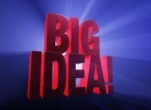 Big, Bold Idea! Stock Photos