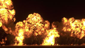 Big Bomb Blast Royalty Free Stock Image