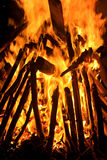 Big bon fire Stock Image
