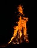 Big bonfire Stock Photos