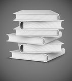 Big books pile Royalty Free Stock Photo