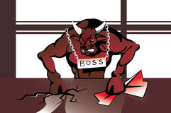 Big Boss Royalty Free Stock Photos