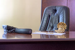 Big boss chair Royalty Free Stock Images