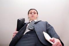 Big Boss des Geschäftsmannes lizenzfreie stockfotografie