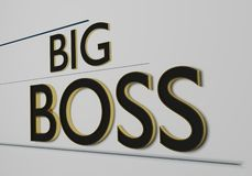 Big boss Stock Photography