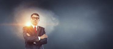 He is big boss Royalty Free Stock Photo