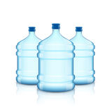Big bottle with clean water. Plastic container for the cooler. Royalty Free Stock Photo