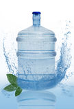 Big bottle of water isolated Royalty Free Stock Photos