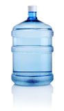 Big bottle of water isolated on white background Royalty Free Stock Photos