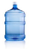 Big bottle of water isolated on white background Royalty Free Stock Images