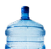 Big bottle of water isolated Stock Photo