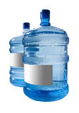 Big bottle of water isolated on a white background Stock Photos