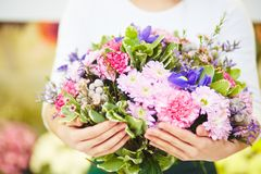 Big bouquet Royalty Free Stock Photography