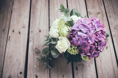 Big bouquet of fresh flowers Royalty Free Stock Images