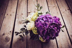 Big bouquet of fresh flowers Royalty Free Stock Photography