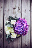 Big bouquet of fresh flowers Stock Photography