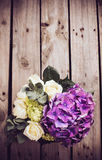 Big bouquet of fresh flowers Royalty Free Stock Photo