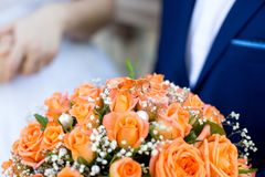 Big flower bouquet Stock Photos